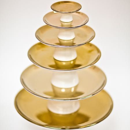 Gold Cake Stand Set