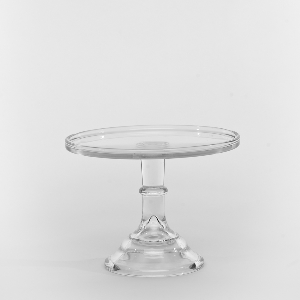 6 Quot Crystal Antique Cake Stand Sweet And Saucy Supply