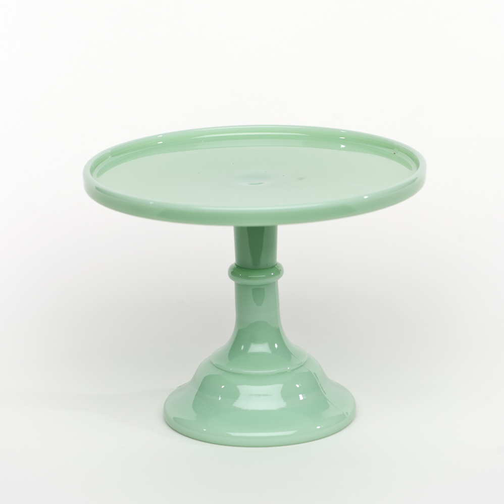 9 Quot Jadeite Antique Cake Stand Sweet And Saucy Supply